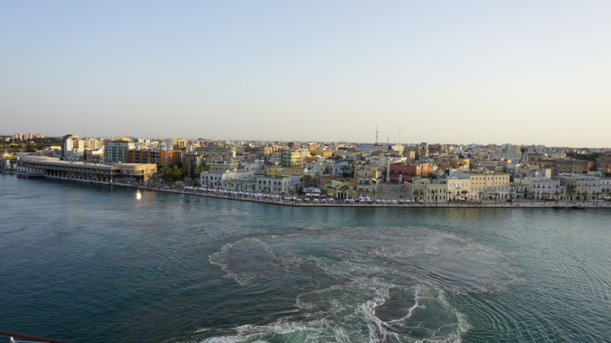 Brindisi - town view from cruise