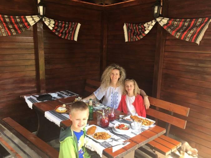 Bucovina - lunch