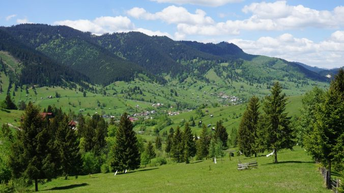 Bucovina - valley