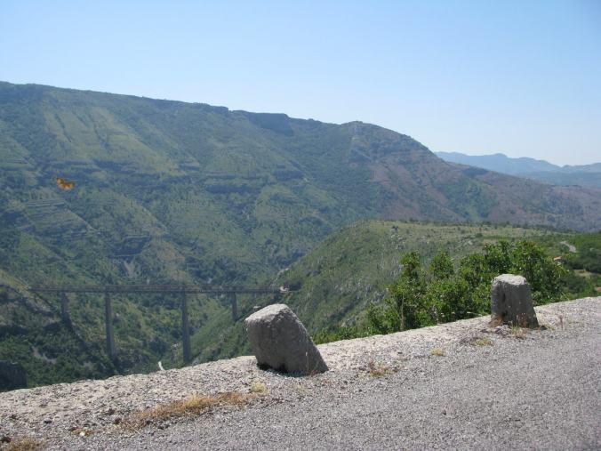 Budva - road