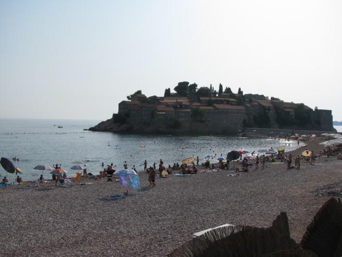 Budva - sveti stefani beach