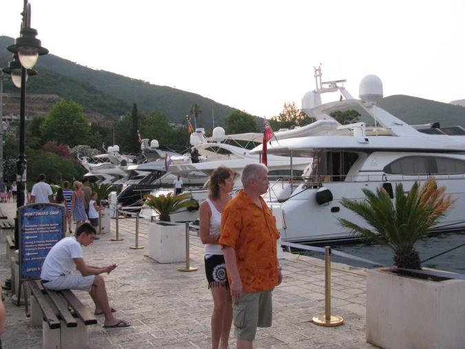 Budva - yacht