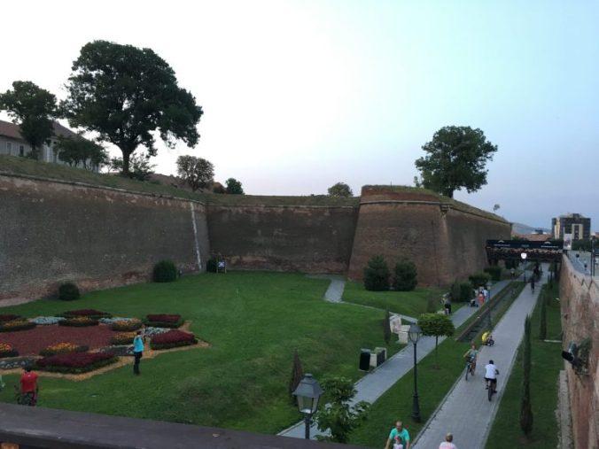 Cetatea Alba-Iulia - flowers