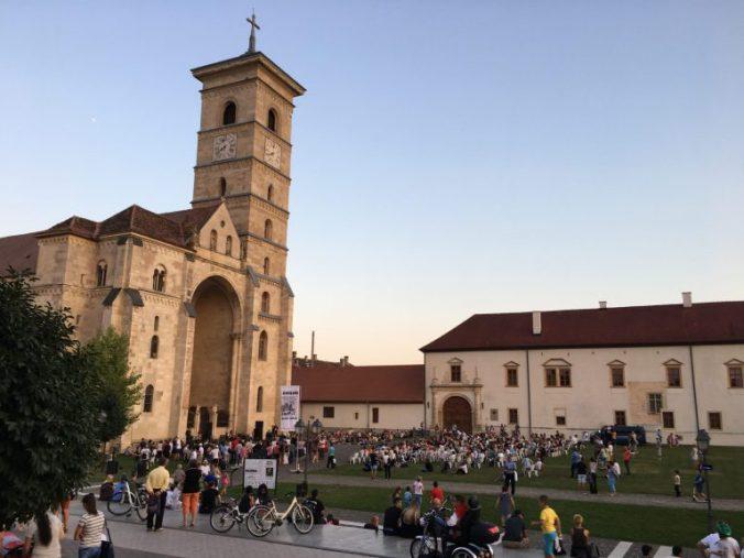 Cetatea Alba-Iulia - show