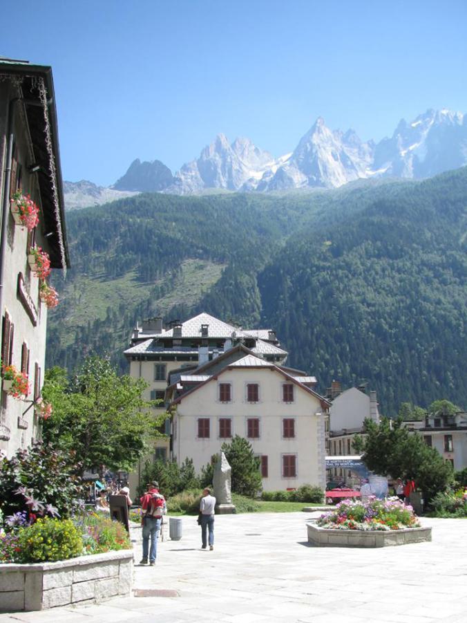 Chamonix Mont-Blanc - downtown