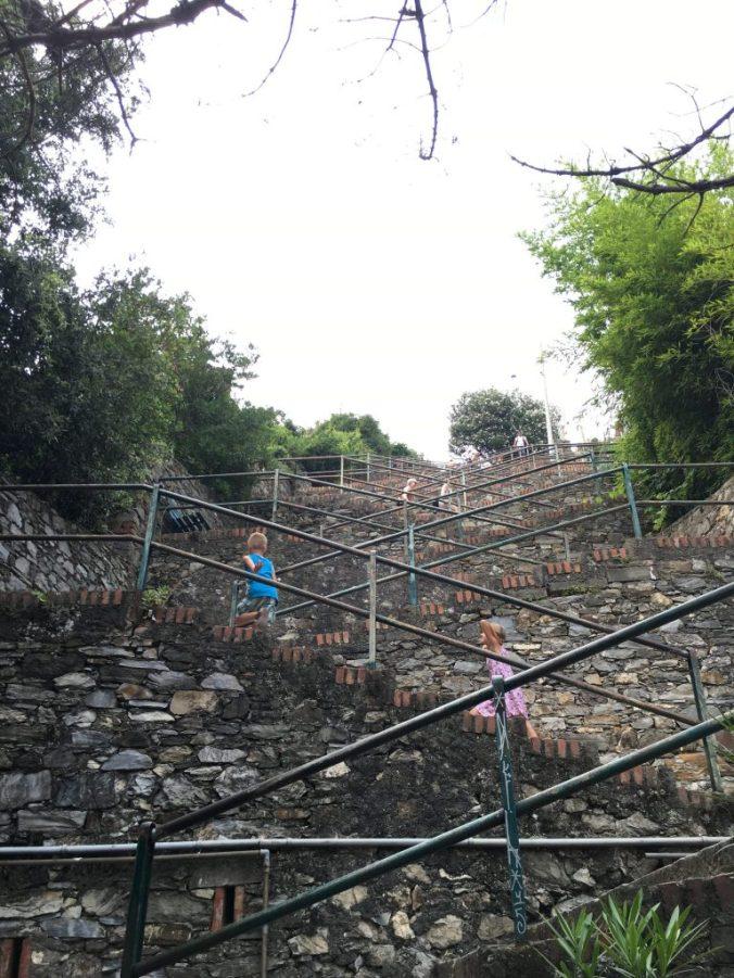 Cinque Terre - corniglia stairs