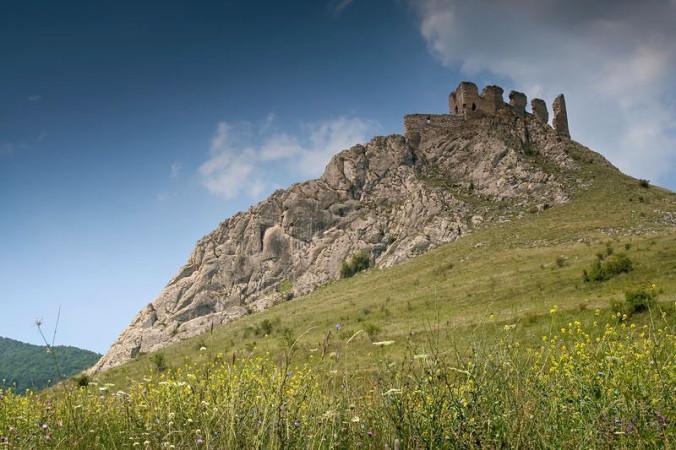 Coltesti - cetatea trascaului