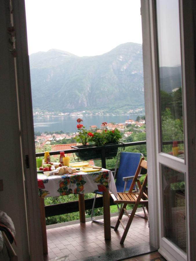 Como - breakfast view