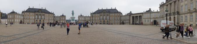 Copenhaga - amalienborg