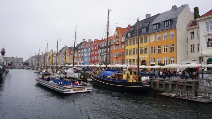 Copenhaga - nyhavn bridge
