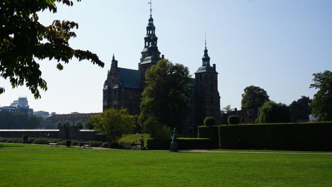 Copenhaga - rosenborg castle