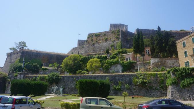 Corfu - new fortress