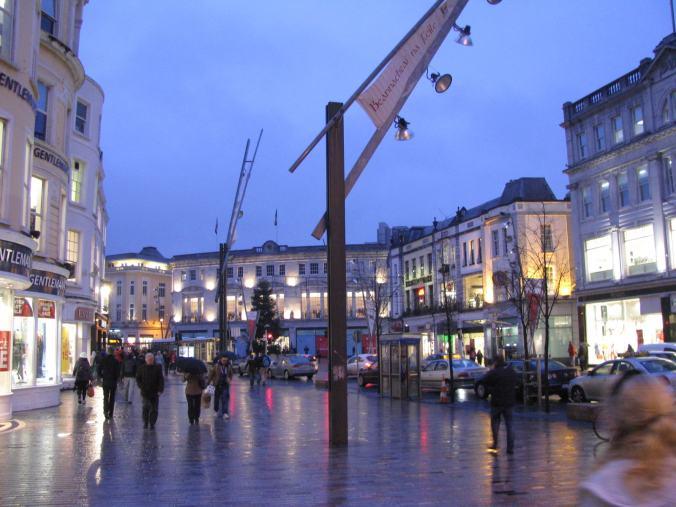 Cork - downtown restaurants