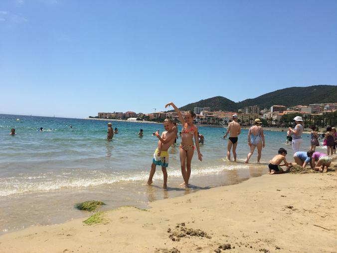 Corsica - ajaccio beach