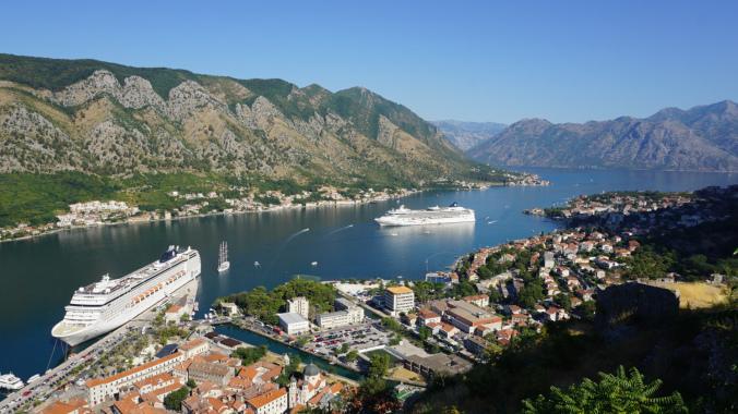 Croaziera pe Mediterana - port kotor