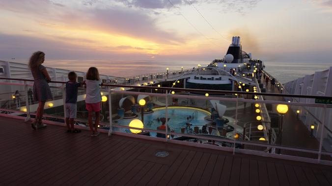 Croaziera pe Mediterana - ship overview