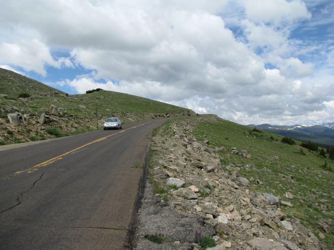 Denver - mount evans road