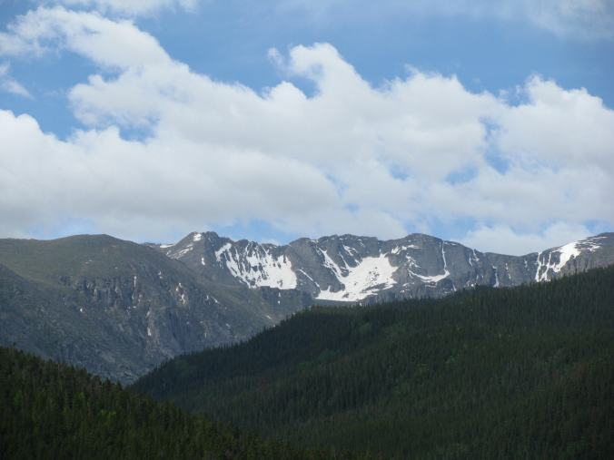 Denver - mount evans view