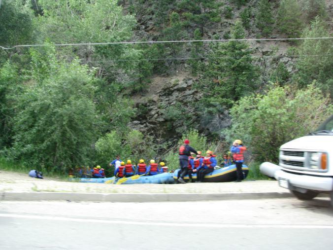 Denver - rafting
