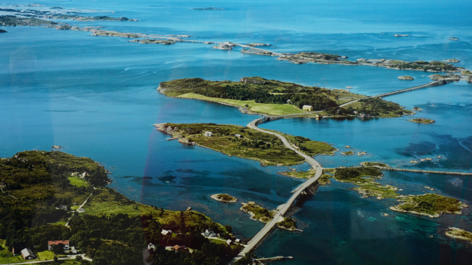Drumul Atlanticului - panoramic view