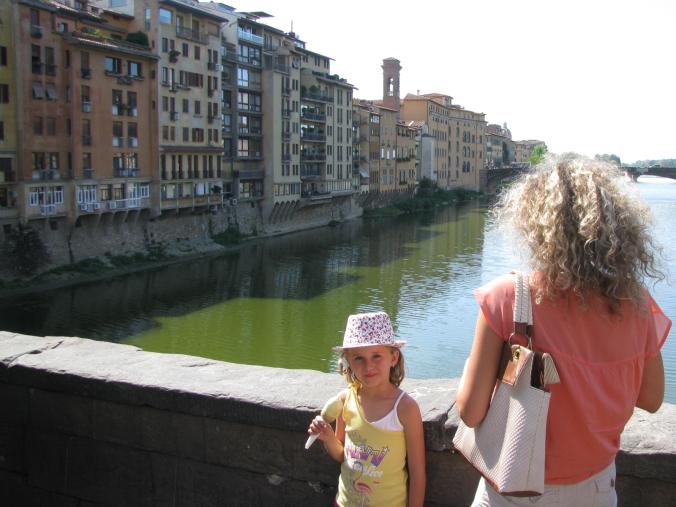 Florenta - ponte vecchio view