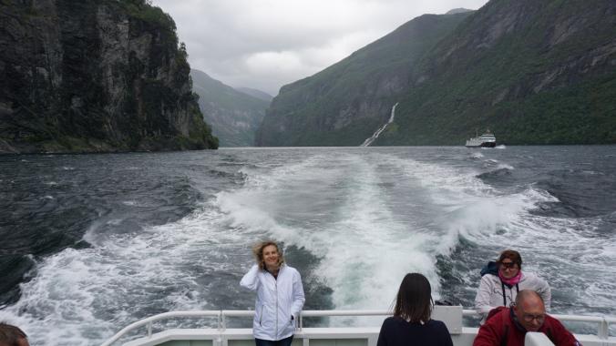 Geiranger - fjord cruise