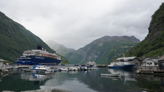 Geiranger - port views