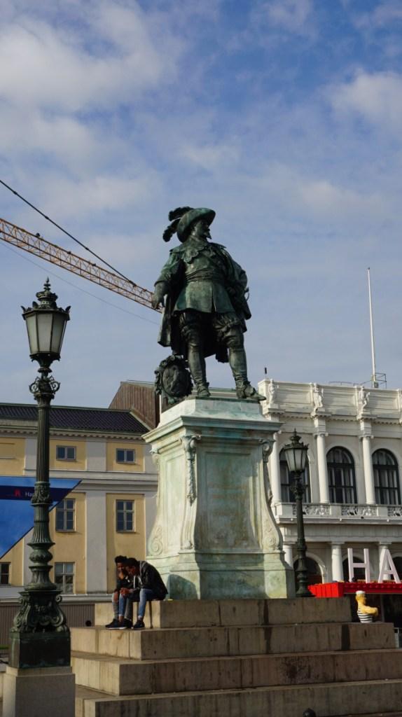 Goteborg - gustaf adolfs statue