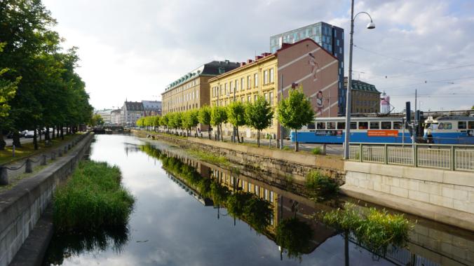 Goteborg - river