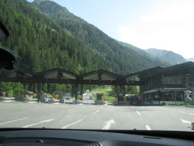 Grossglockner - entrance