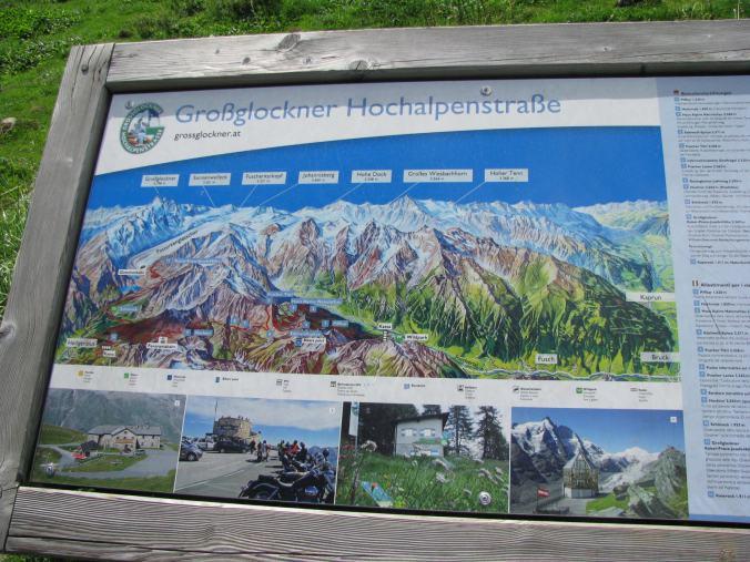 Grossglockner - mountains map