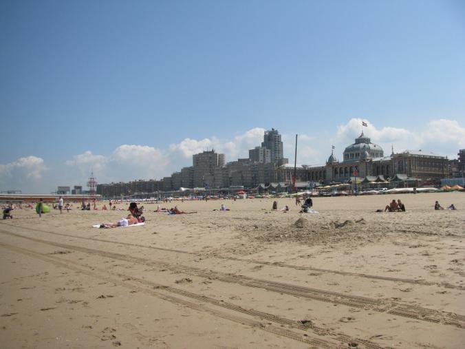Haga - scheveningen beach view