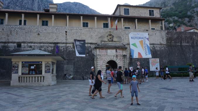 Kotor - fortress
