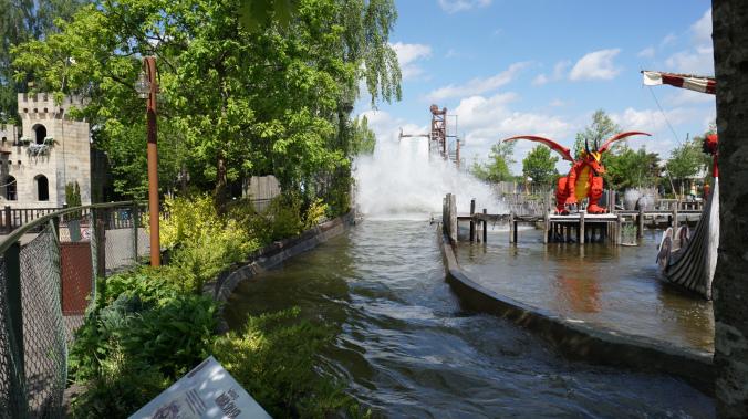 Legoland Danemarca - park attraction barca vikingilor1