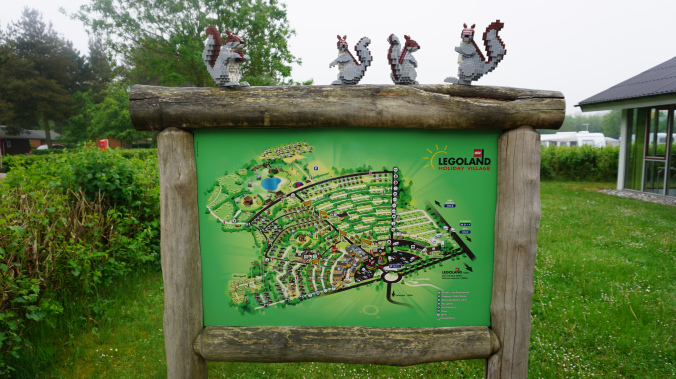 Legoland Danemarca - village map