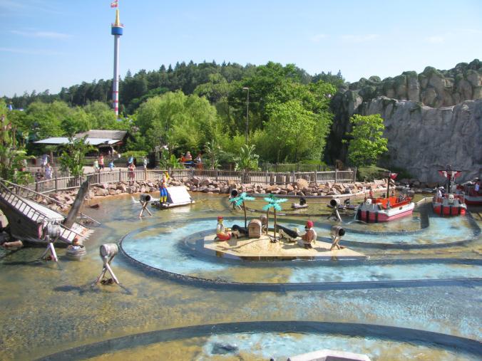 Legoland Germania - water fight