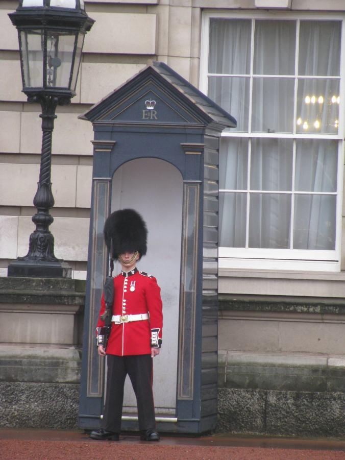 Londra - buckingham palace guard