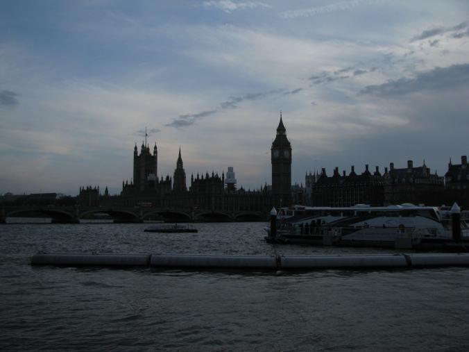 Londra - thames cruise
