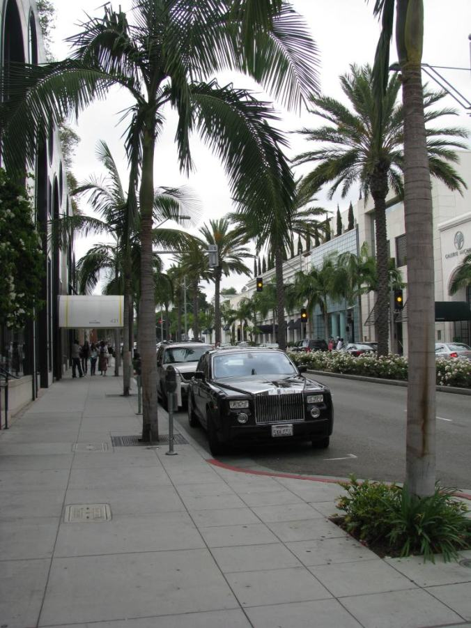Los Angeles - rodeo drive cars