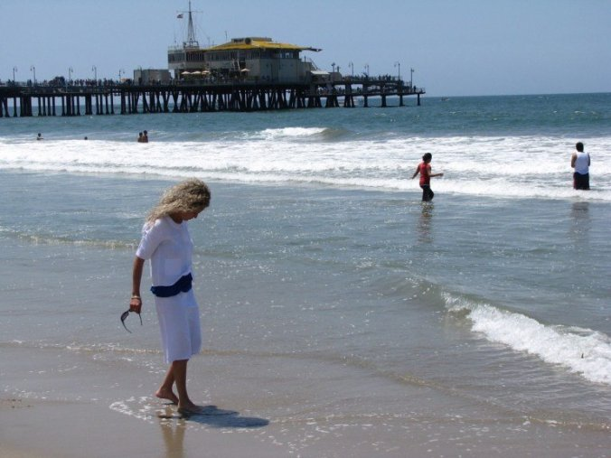 Los Angeles - santa monica beach