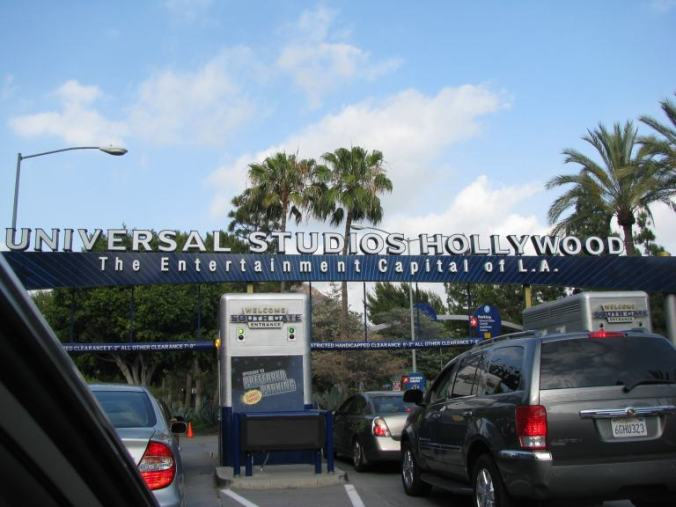 Los Angeles - universal studios entrance1
