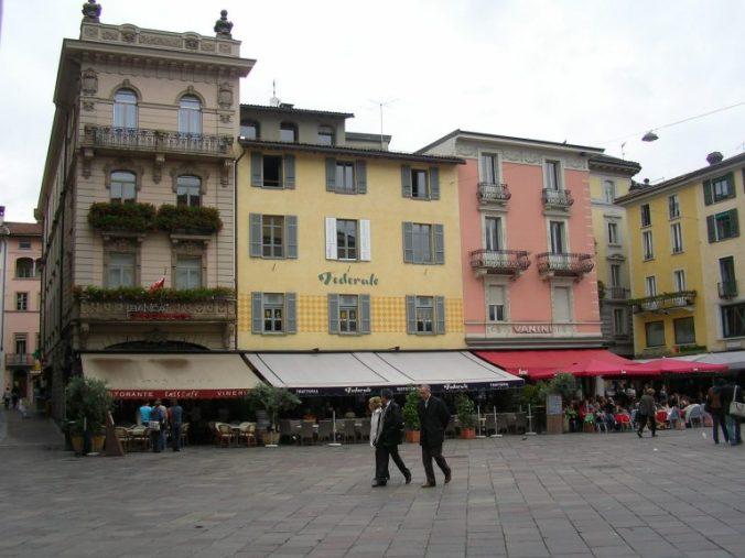 Lugano - houses