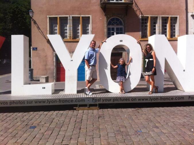 Lyon - old town square