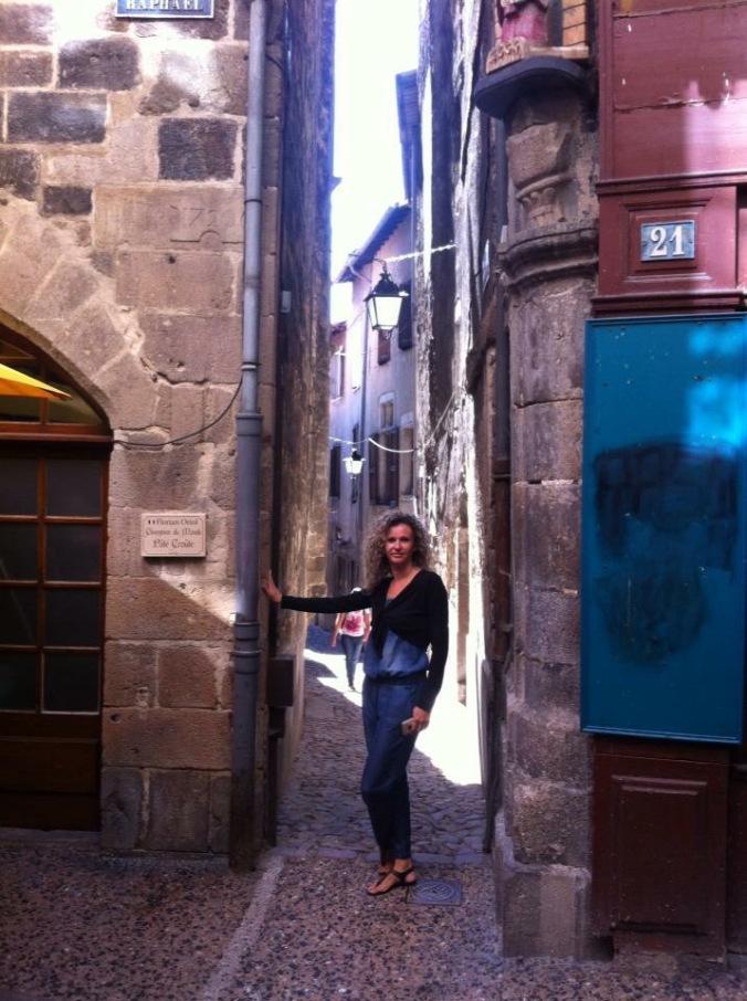 Lyon - puy en velay street