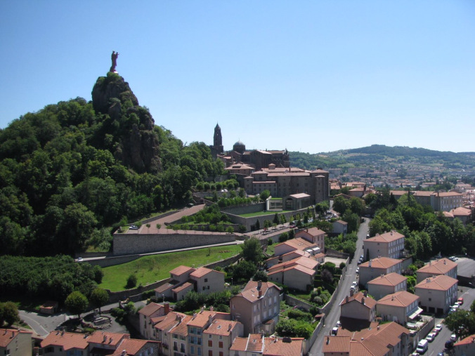 Lyon - puy en velay view