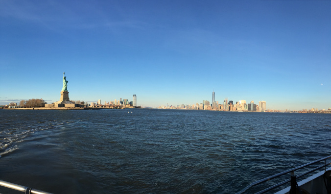 Manhattan - panoramic view from the cruise