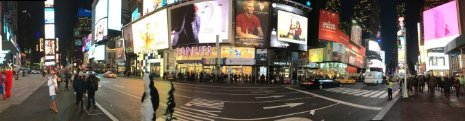 Manhattan - times square view