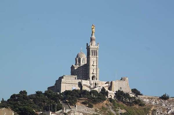 Marsilia - notre dame du garde