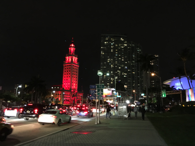 Miami - downtown by night