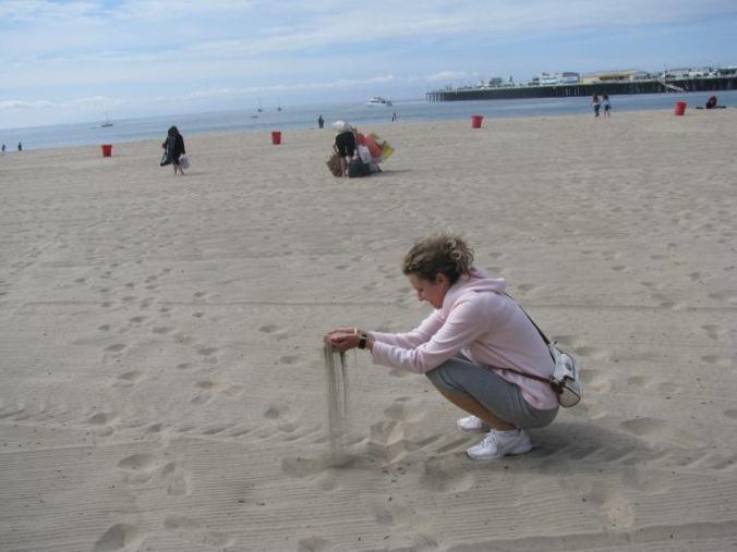 Monterey - boardwalk beach1